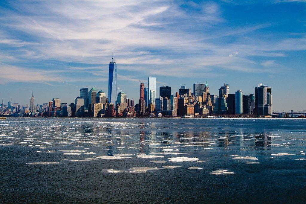 new york, skyline, new york city